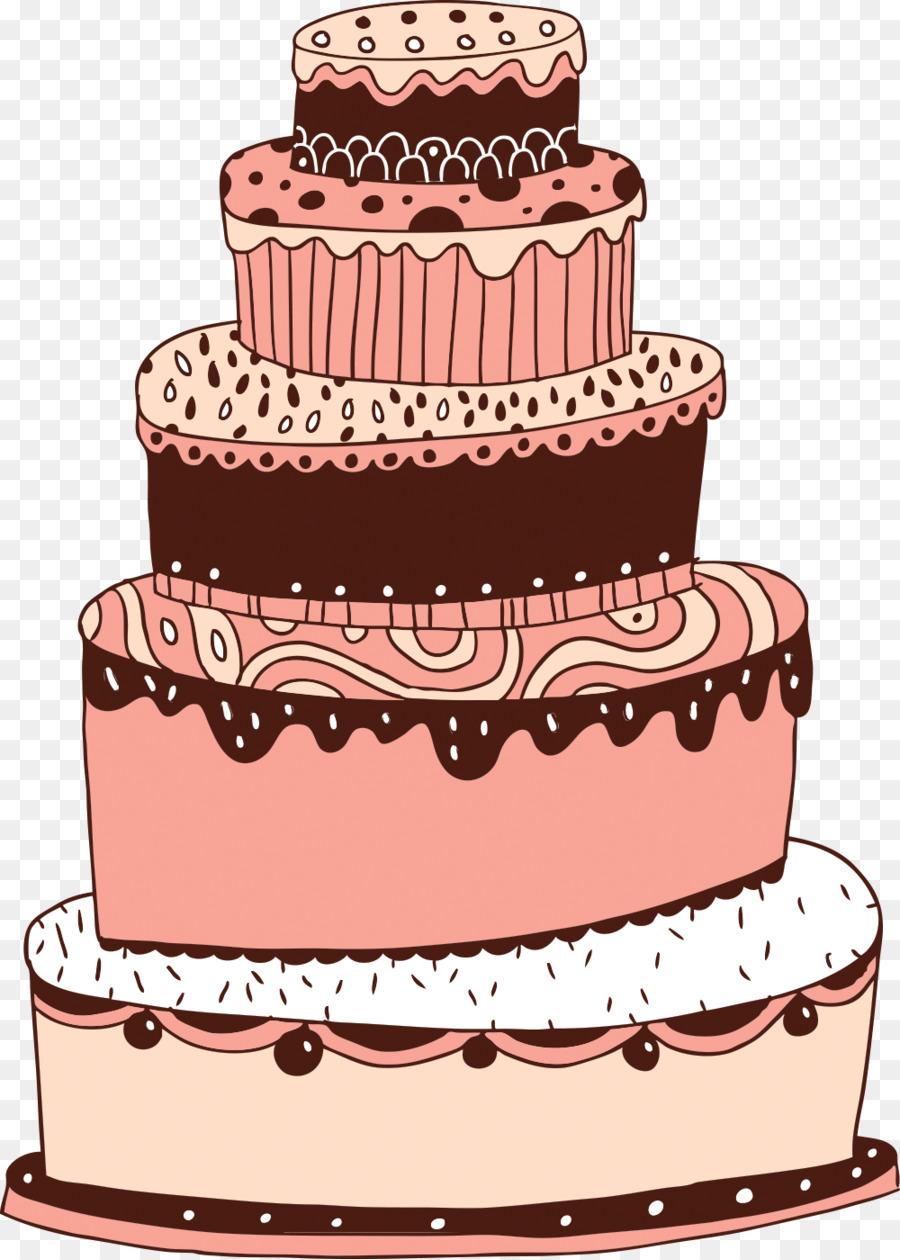 Layer Cake Birthday Cake Wedding Cake Teacake Cakes Png Download