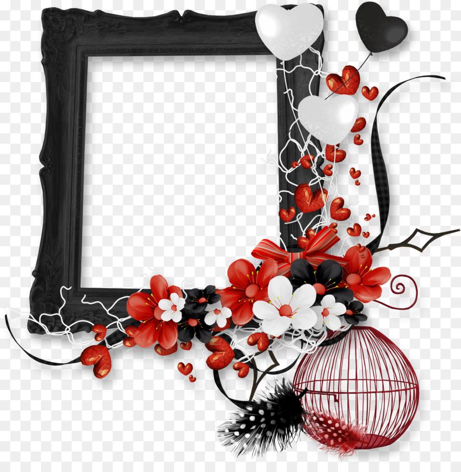 Picture Frames - black frame png download - 2524*2538 - Free ...