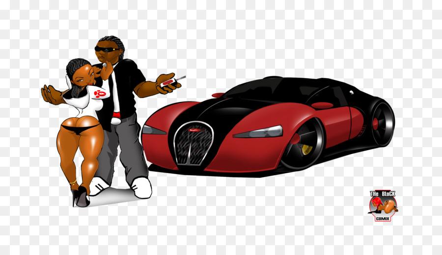 2010 Bugatti Veyron Cartoon Drawing Bugatti Png Download 800 505
