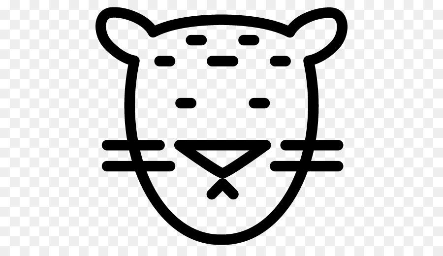 Leopard Computer Icons Tiger Animal Symbol Leopard Png Download