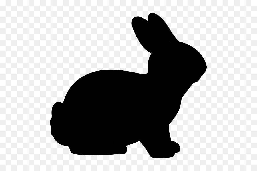 easter bunny rabbit silhouette clip art rabbit png download 600 rh kisspng com clip art bunny ears clip art bunny ears