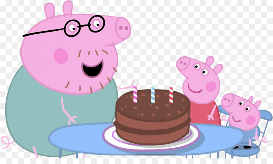 Peppa Pig Birthday Png Download 1517 882 Free Transparent Daddy