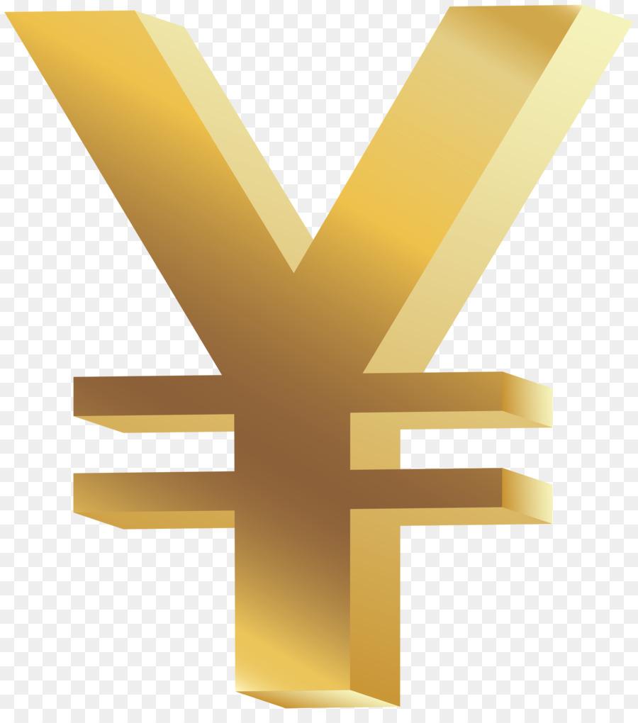 Yen Sign Japanese Yen Symbol Clip Art Clip Art Png Download 4475