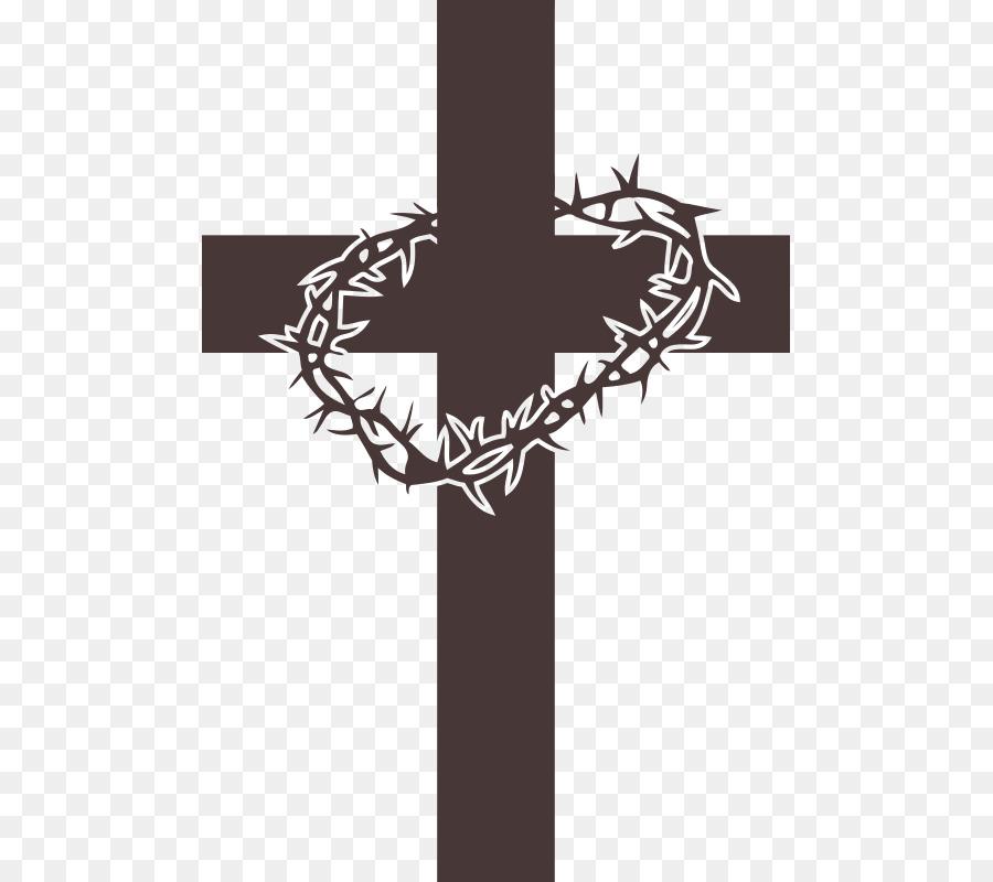 La Corona De Espinas La Cruz Cristiana De La Cruz Y La Corona