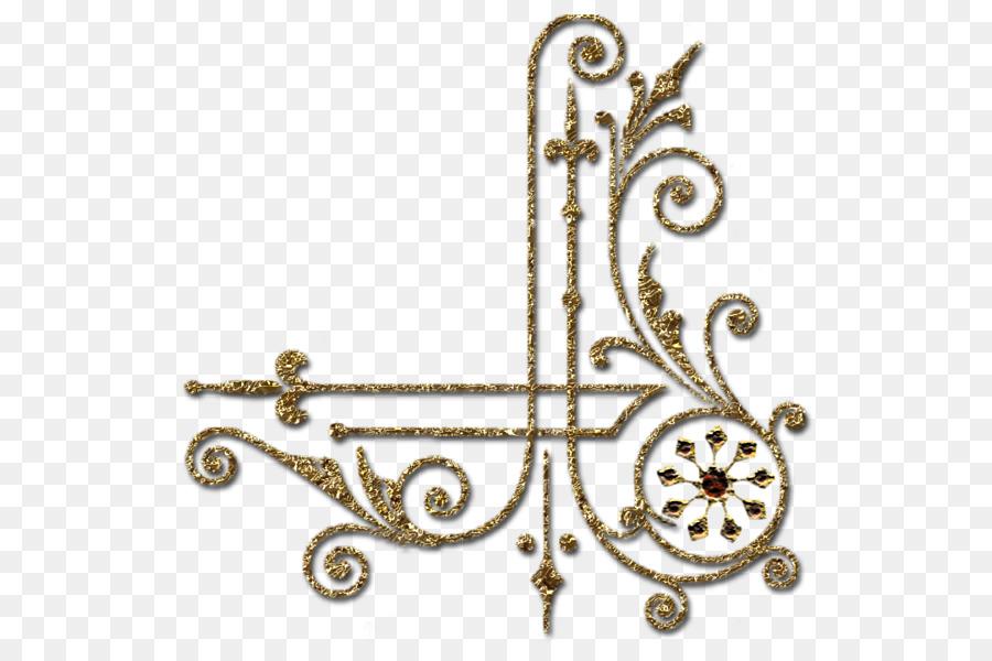 Bordes y Marcos de Oro de las artes Decorativas Clip art - de oro de ...