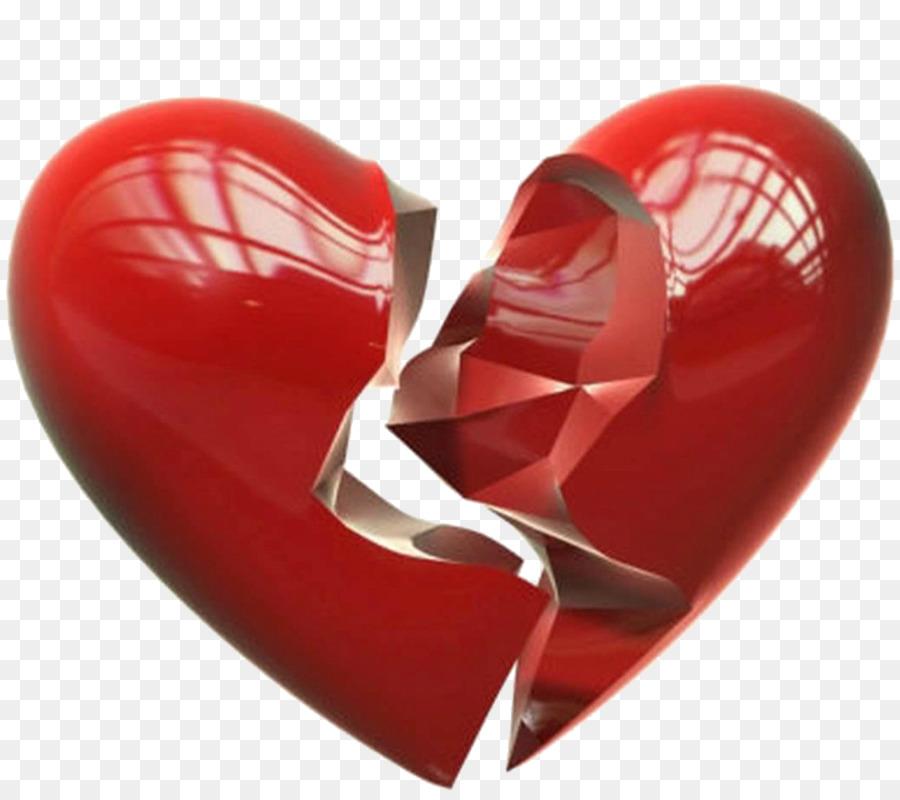 Broken Heart Love Intimate Relationship Break Up Png Download