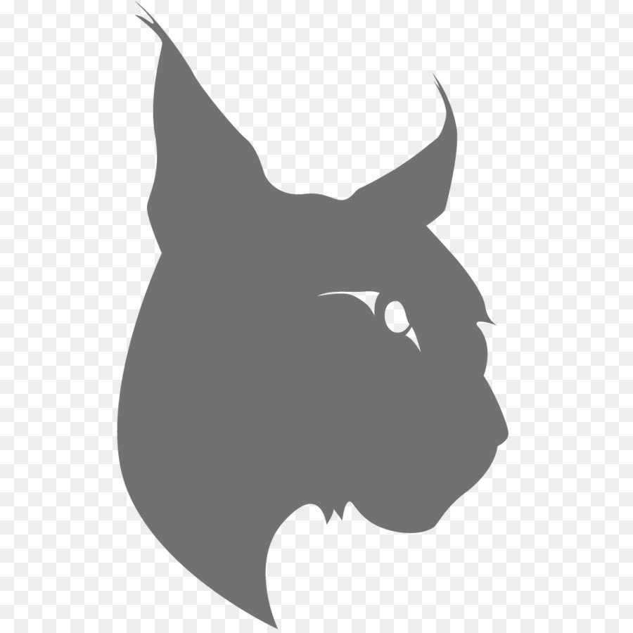 bobcat silhouette digital media animal lynx png download 1000