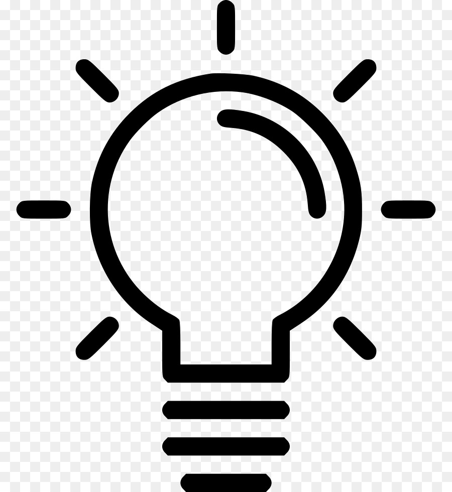 Computer Icons Incandescent light bulb Lamp Idea - IDEA png download ... for Incandescent Lamp Symbol  270bof