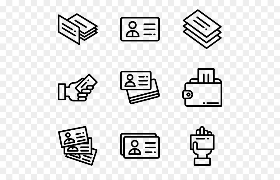 Computer Icons Business Cards - business card png download - 600*564 ...