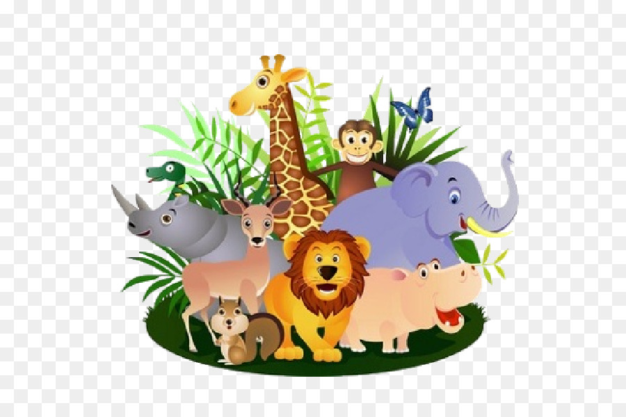 hippopotamus cartoon safari clip art - animal png download - 600 600