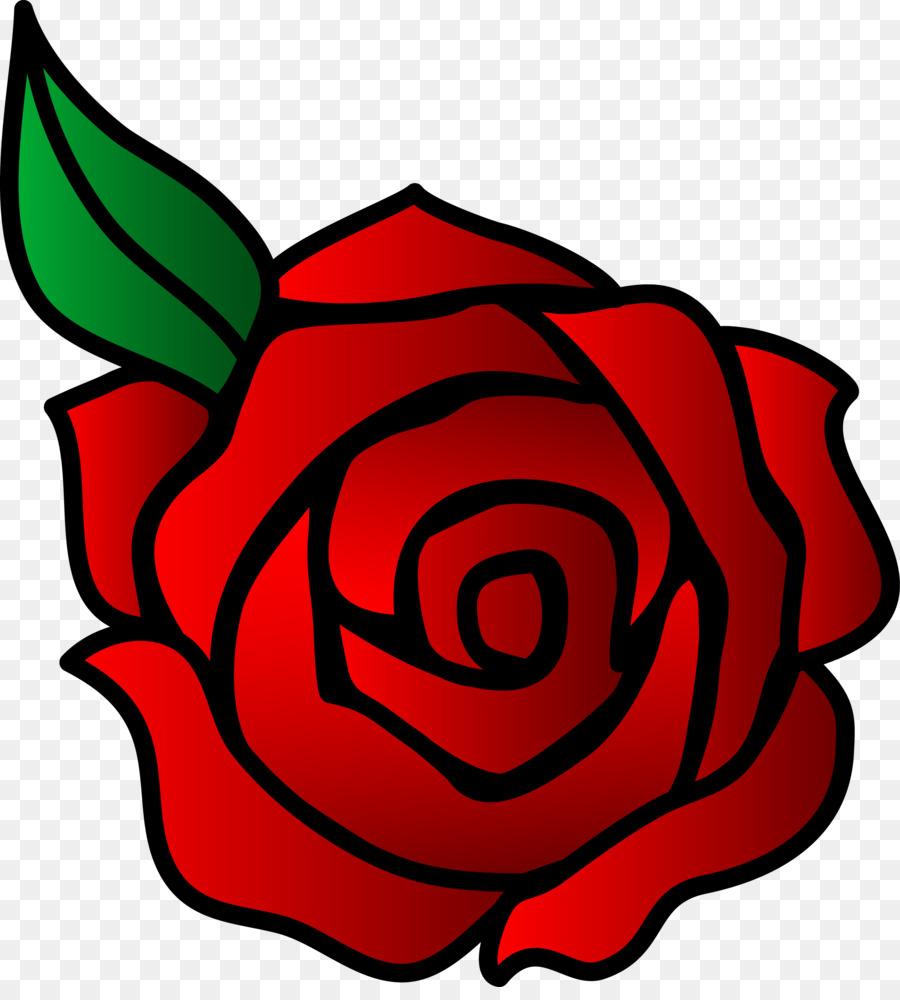 Zeichnung Cartoon Rose Clip Art Rose Vektor Png Herunterladen