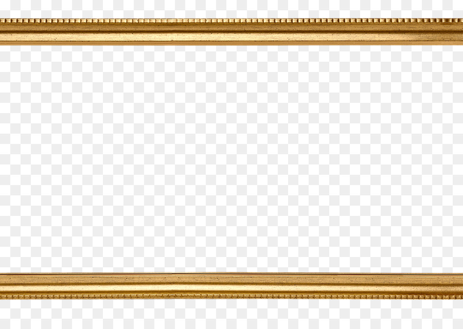Rectangle Wood Picture Frames - gold border png download - 980*677 ...