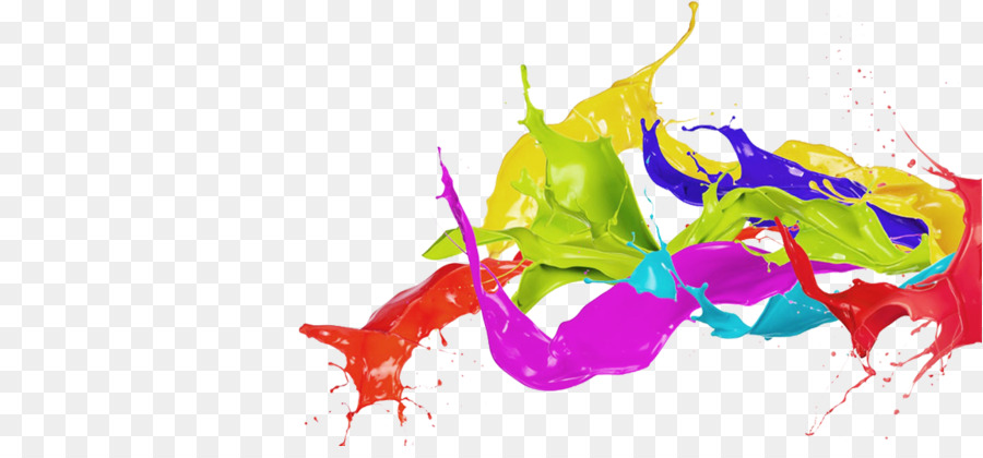 Color Painting Watercolor Splash Background Color Clipart: Holi Color Desktop Wallpaper Clip Art