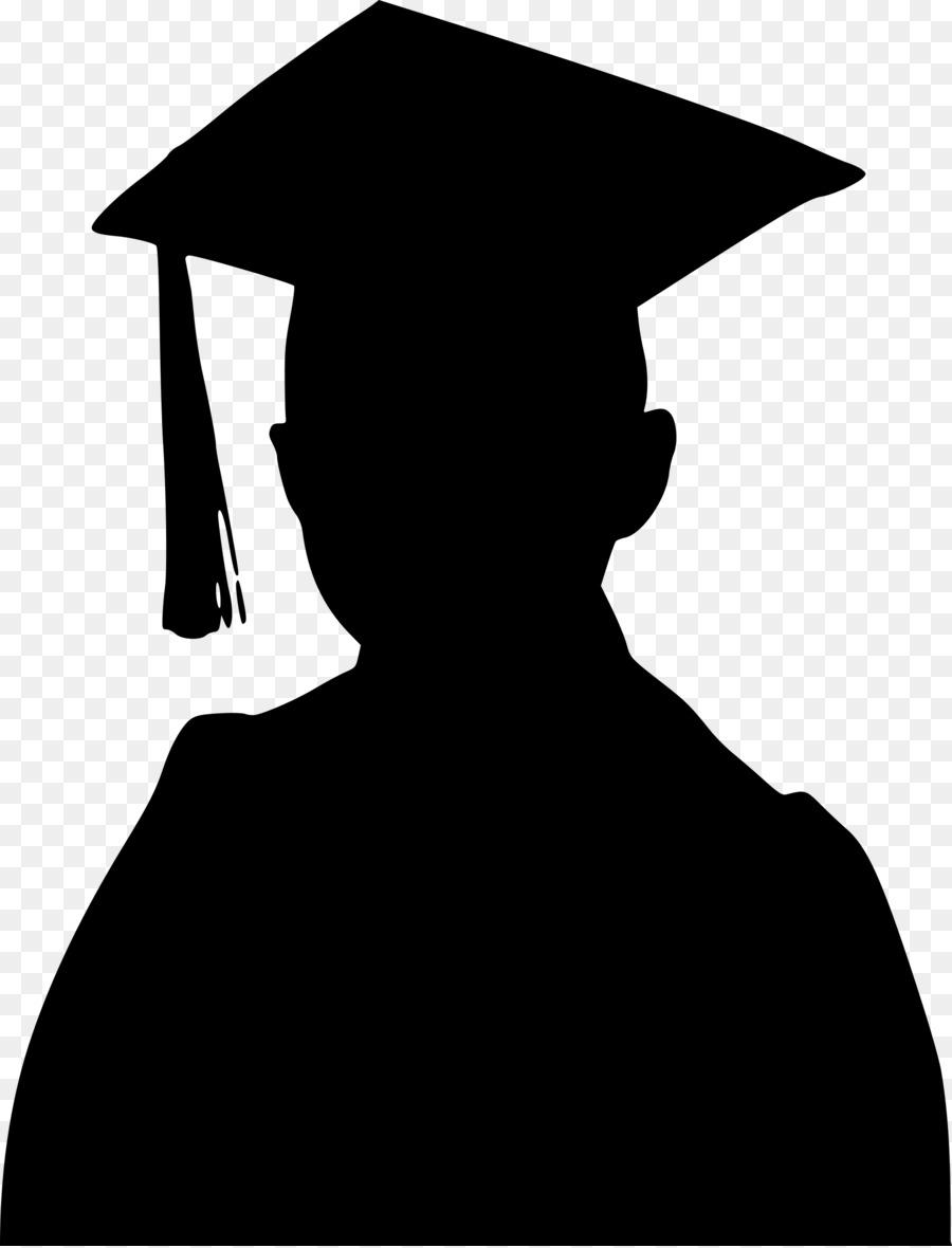 graduation ceremony silhouette clip art graduation png download rh kisspng com