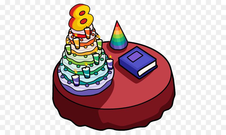 Club Penguin Birthday Cake Wedding Cake Party Anniversary Pastel