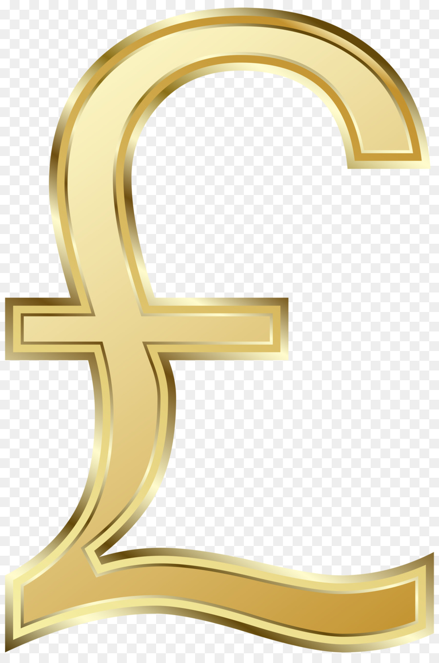 Pound Sterling Pound Sign Currency Symbol Clip Png Download 3989