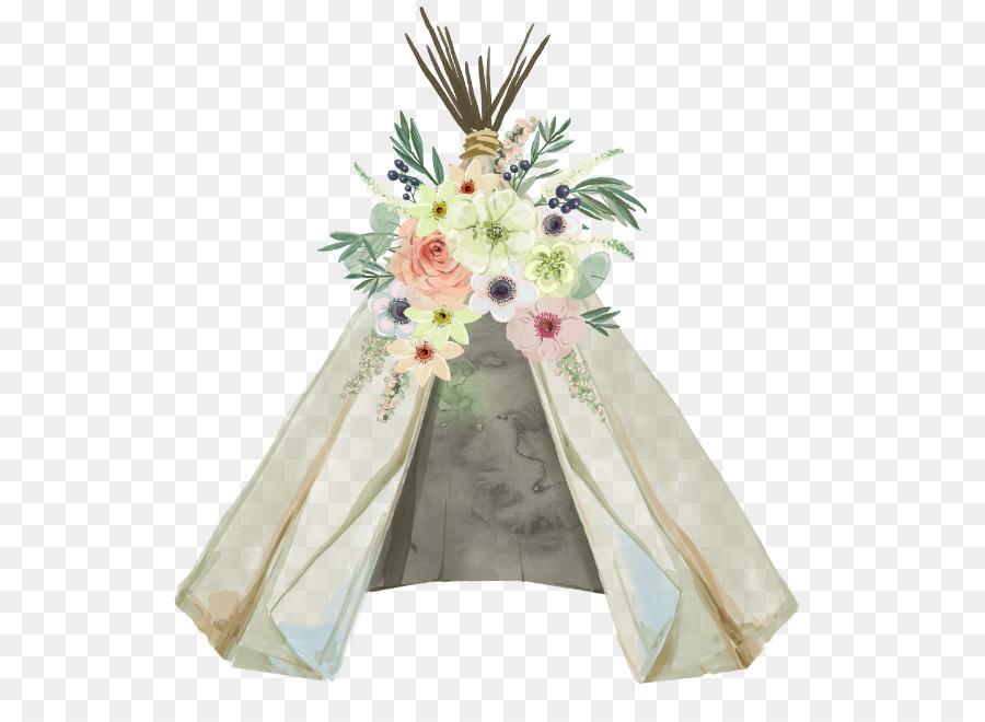 wedding invitation baby shower tipi glamping dreamcatcher - boho png download - 600 647