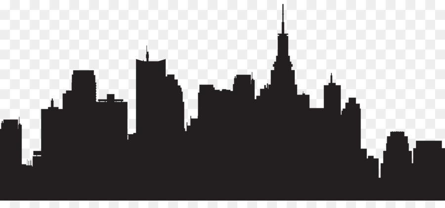 new york city silhouette skyline clip art city png download 8000 rh kisspng com new york skyline clipart black and white new york city skyline clipart