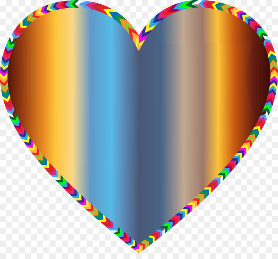 Borders And Frames Color Heart Rainbow Clip Art