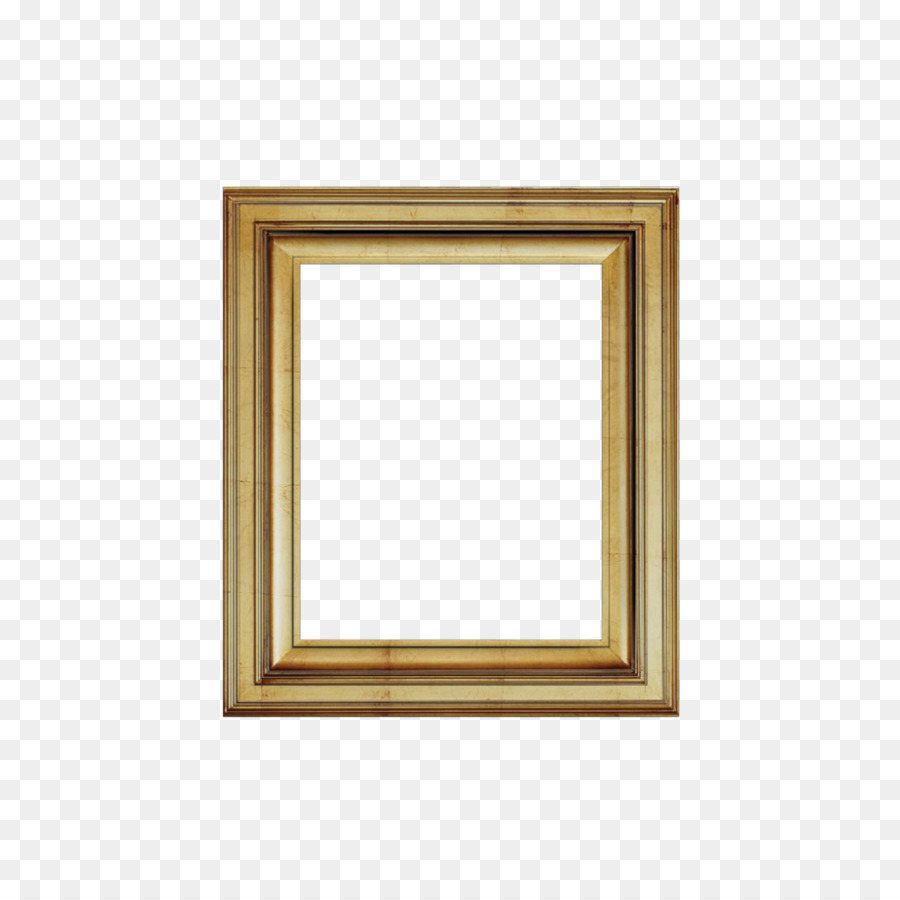Window Picture Frames Cornice Rectangle Wood - 3d png download ...