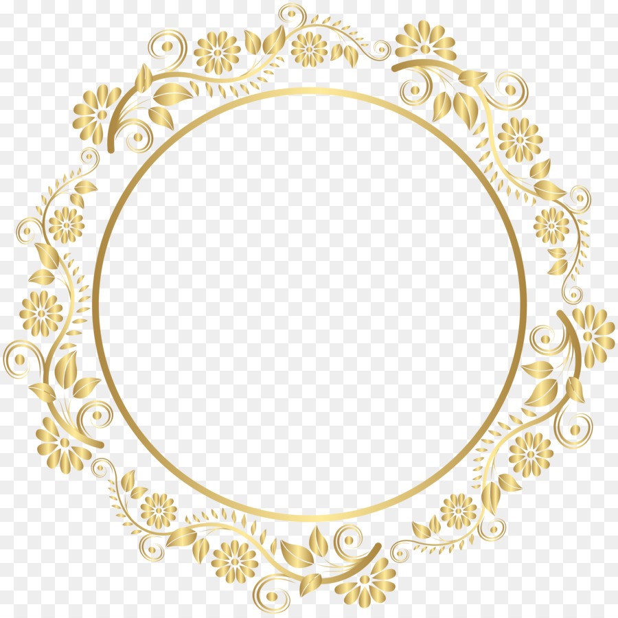 179c71c9aba2 Gold Picture Frames Clip art - round png download - 8019 8000 - Free Transparent  Gold png Download.