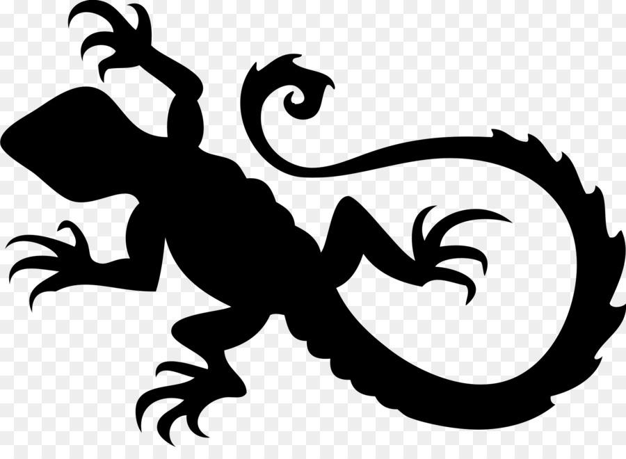Los Lagartos Pegatinas De Coche Van De Reptiles - dragón barbudo ...