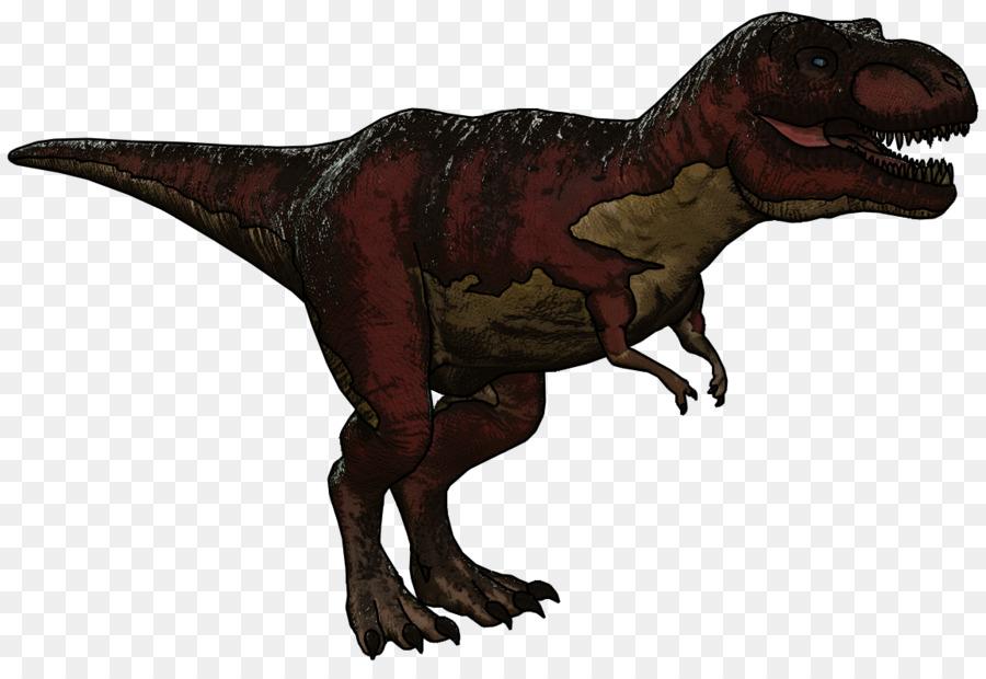 ark: survival evolved velociraptor dinosaur tyrannosaurus rex