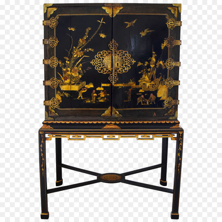Table Cabinetry Furniture Antique Chinoiserie - Chinoiserie - Table Cabinetry Furniture Antique Chinoiserie - Chinoiserie Png