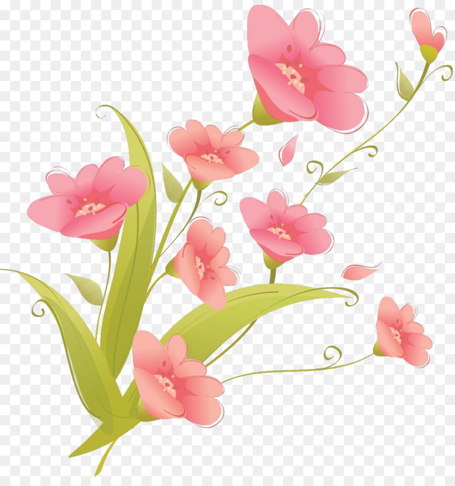 Flower bouquet Clip art - cherry blossom png download - 1031*1080 ...