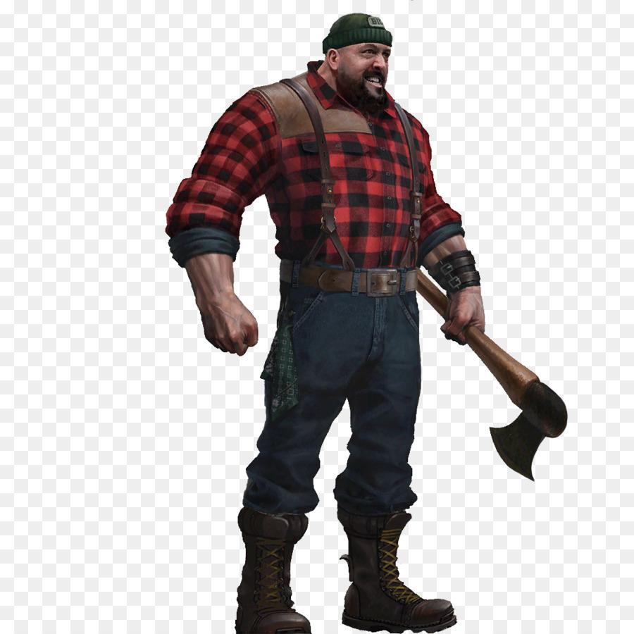 I M A Lumberjack
