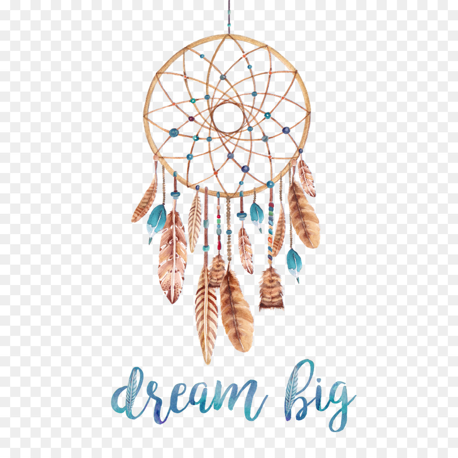 43 Dreamy Watercolor Inspired Wedding Ideas: Dreamcatcher Poster Watercolor Painting Printmaking