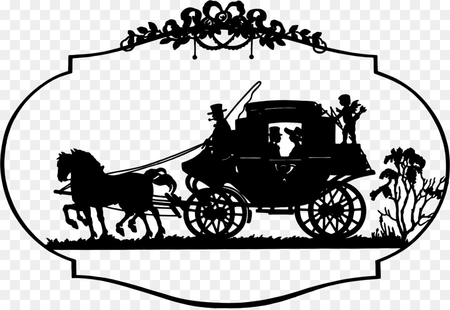 Horse And Buggy Carriage Horse Drawn Vehicle Clip Art