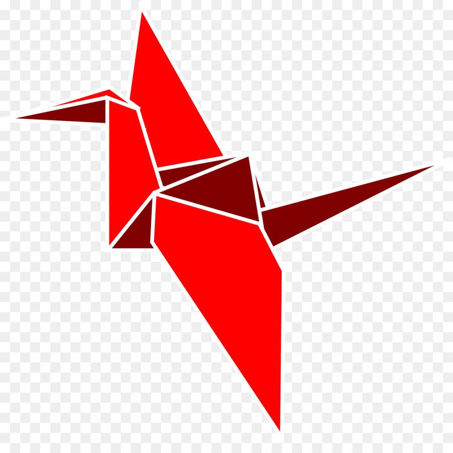 Thousand Origami Cranes Paper Clip Art