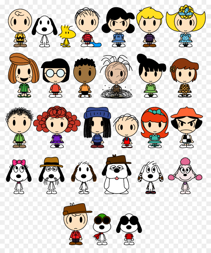 Vuelva a ejecutar van Pelt y Snoopy, Lucy van Pelt y Charlie Brown ...