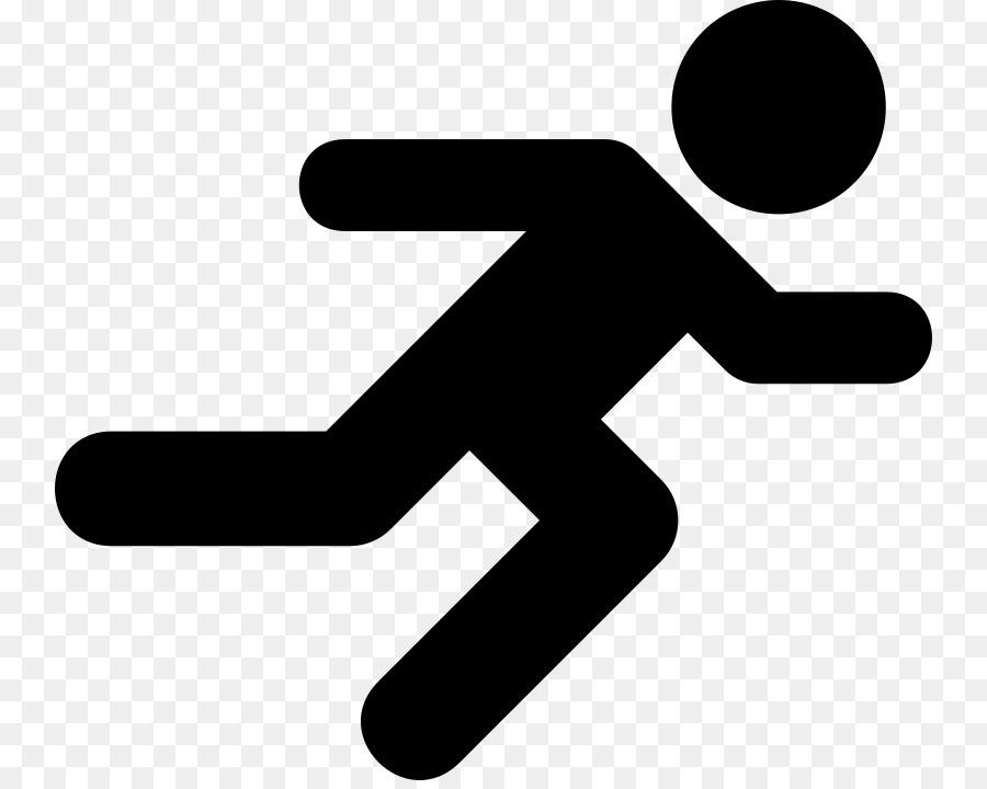 Computer Icons Running Symbol Clip Art Running Man Png Download