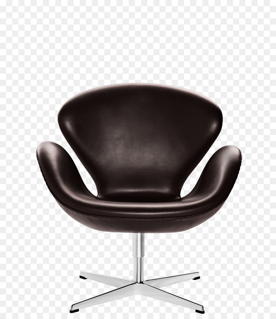 Egg Eames Lounge Chair Swan Fritz Hansen Brown
