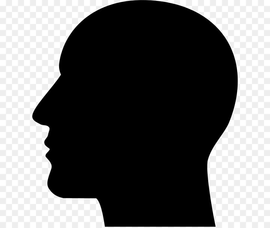 silhouette human head clip art head png download 686 756 free rh kisspng com human clipart png humana clip art