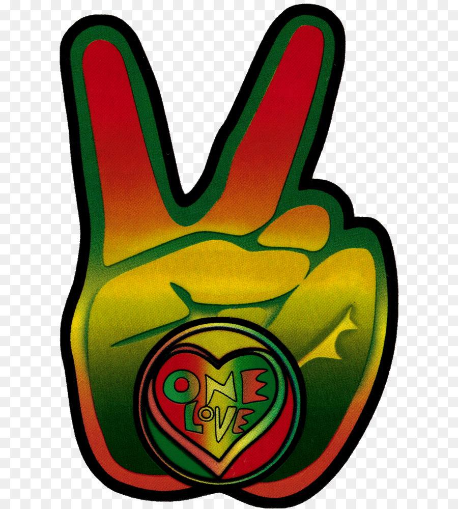 Bumper Sticker Peace Symbols Decal Rastafari Bob Marley Png