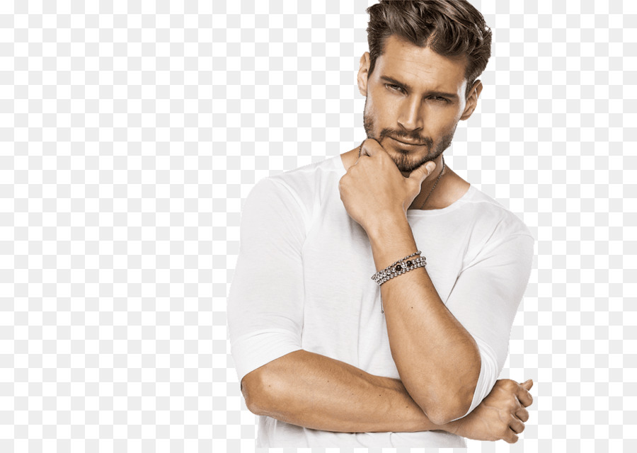 Model Hairstyle Stock photography Male Royalty-free - thinking man png download - 950*668 - Free Transparent Model png Download.
