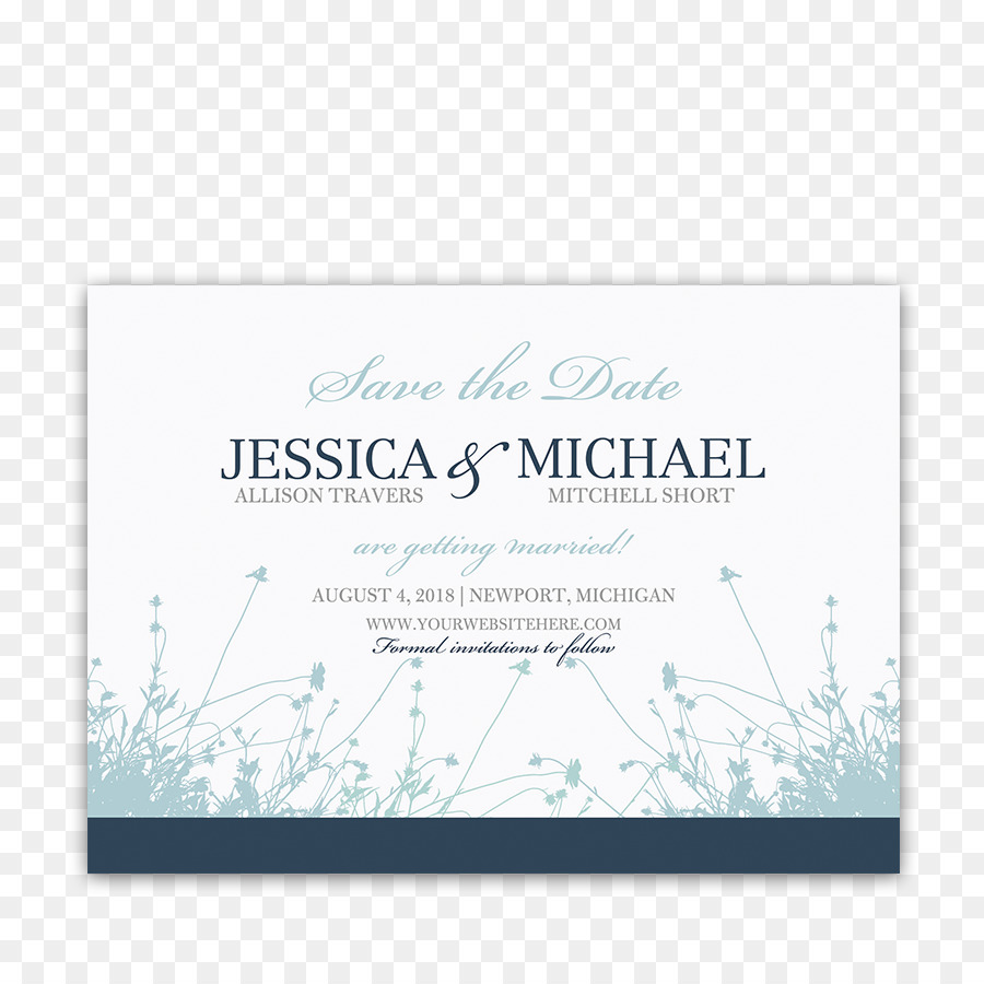 Wedding invitation Save the date RSVP Navy blue - save the date png ...