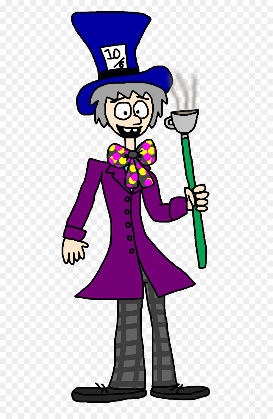 Joker Kartun Perilaku Manusia Clip Art Mad Hatter Unduh Perilaku