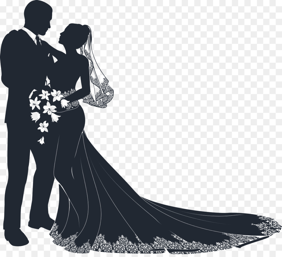 wedding invitation bridegroom clip art wedding vector png download rh kisspng com bride groom clipart black and white bride and groom clipart free download