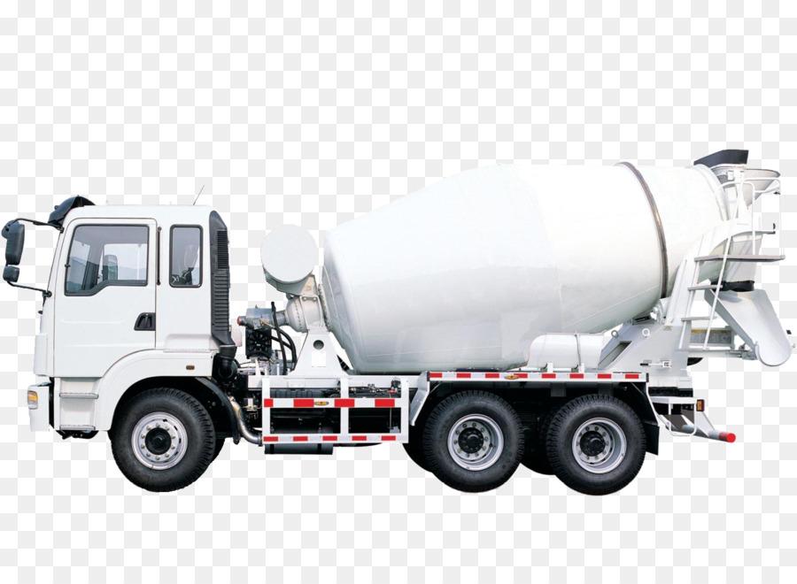 Cement Mixers Concrete pump Truck Ready-mix concrete - Mixer