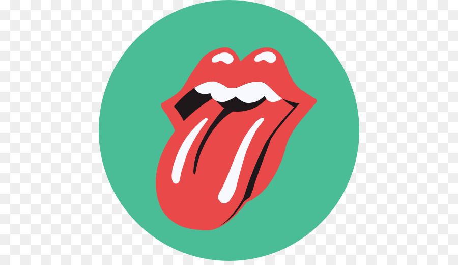 The Rolling Stones Logo Tongue Graphic Design