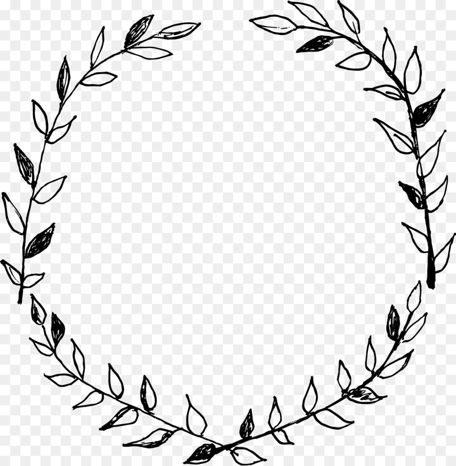 Laurel wreath Drawing Flower Clip art - drawn png download ...