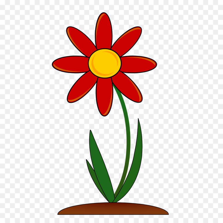 Pressed Flower Craft Drawing Clip Art Red Flower Png Download