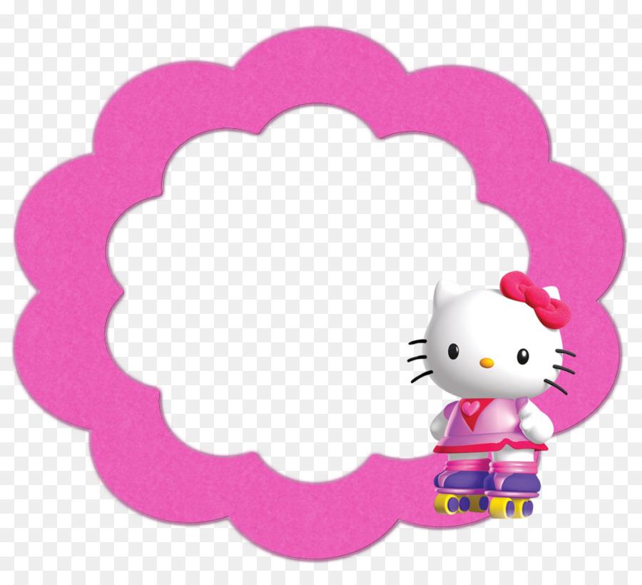 Hello Kitty Marcos Clip art - hola Formatos De Archivo De Imagen ...