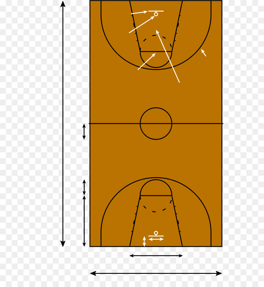 drawing rectangle cartoon basketball court png download 627 973