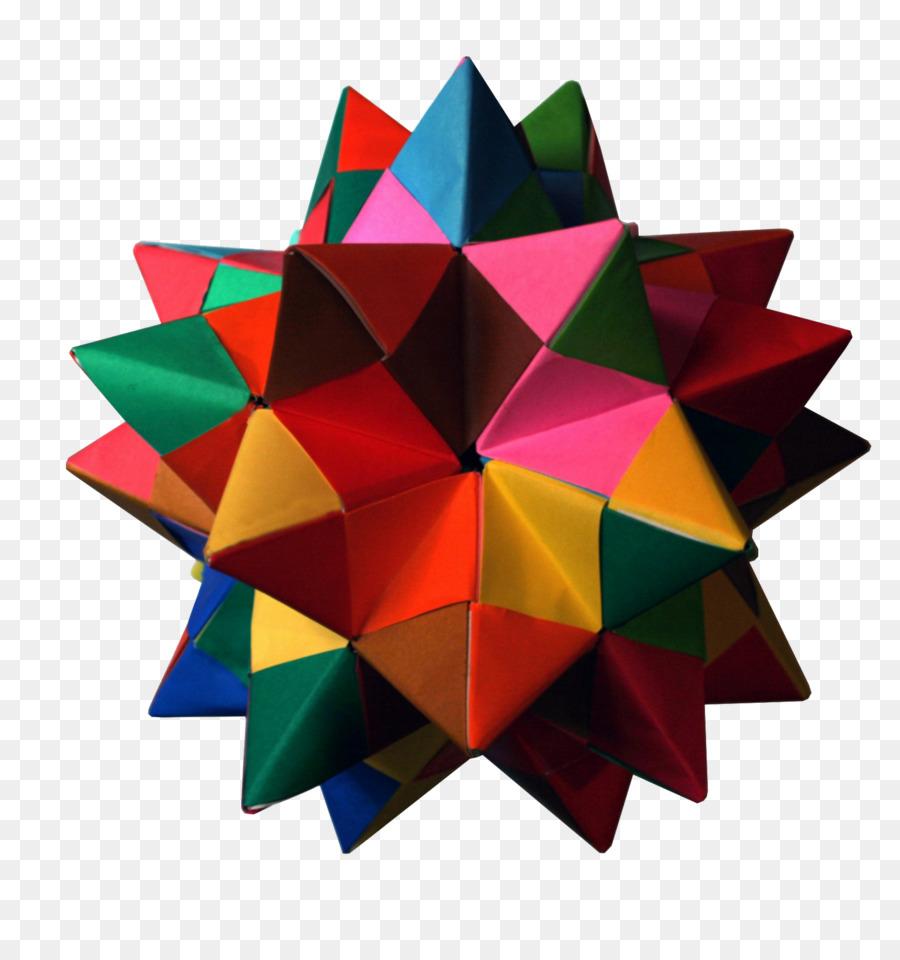 Paper Pentakis Dodecahedron Modular Origami Truncated Icosahedron