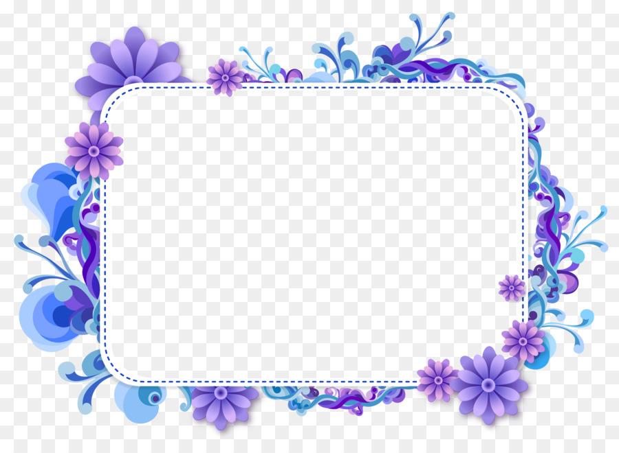 picture frames clip art blue flower border png download Black Heart Clip Art Free Military Purple Heart Clip Art Free